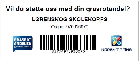 Grasrotandelen Lørenskog skolekorps